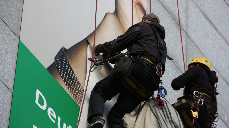 Möbel Hübner Fassadenbeklebung