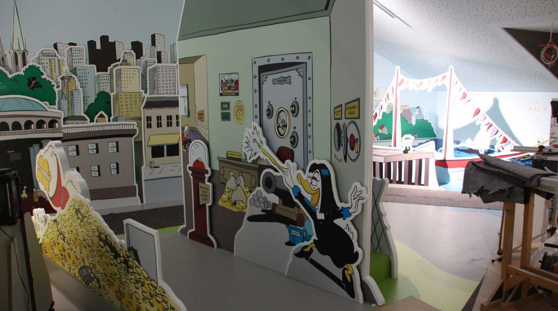 Comicausstellung im Erika-Fuchs-Haus
